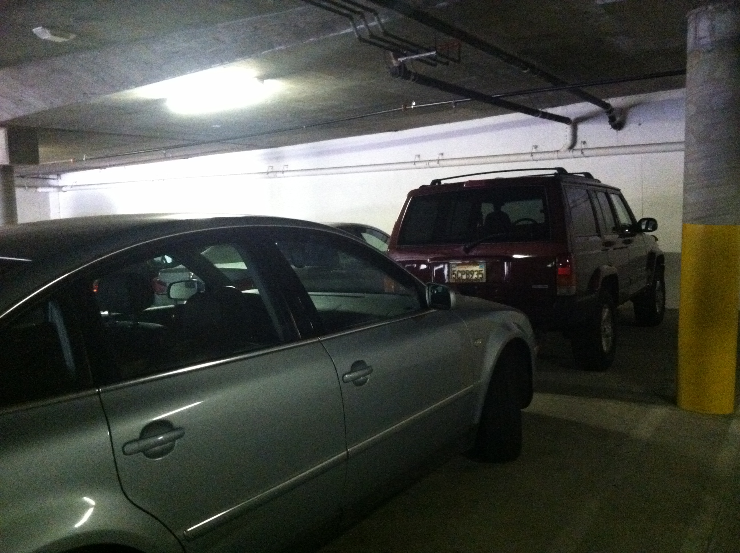 Tandem parking sucks essentially married for 2 car tandem garage